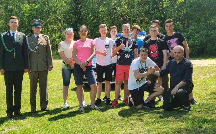 Spotkanie z młodzieżą Zespołu Szkół nr 1 im.gen. J.Bema w Ciechanowie